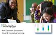 Conceptua Math Apps in Edmodo