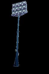25' Telescoping Light Mast with 150,000 lumen light output