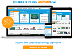 Connect with Colleges on any device at CollegeWeekLive