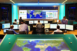 CriticalSpace solutions Control Room Project