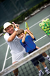 Junior instruction at the Palmetto Dunes Tennis Center