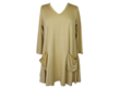 Comfy USA Two Pocket Tunic in Butter Modal Fabric