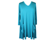 Comfy USA Two Pocket Tunic in Turquoise