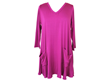 Comfy USA Modal Tunic in Pink