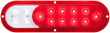 six-inch oval stop tail turn lamp, six-inch oval backup lamp