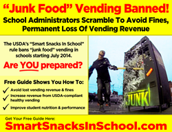NSBA ad - Schools should visit smartsnacksinschool.com for information on complying with Smart Snacks In School