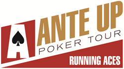 Ante Up Poker Tour Running Aces logo