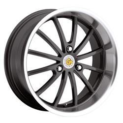 Smart Car Wheels - the Darwin in Gunmetal