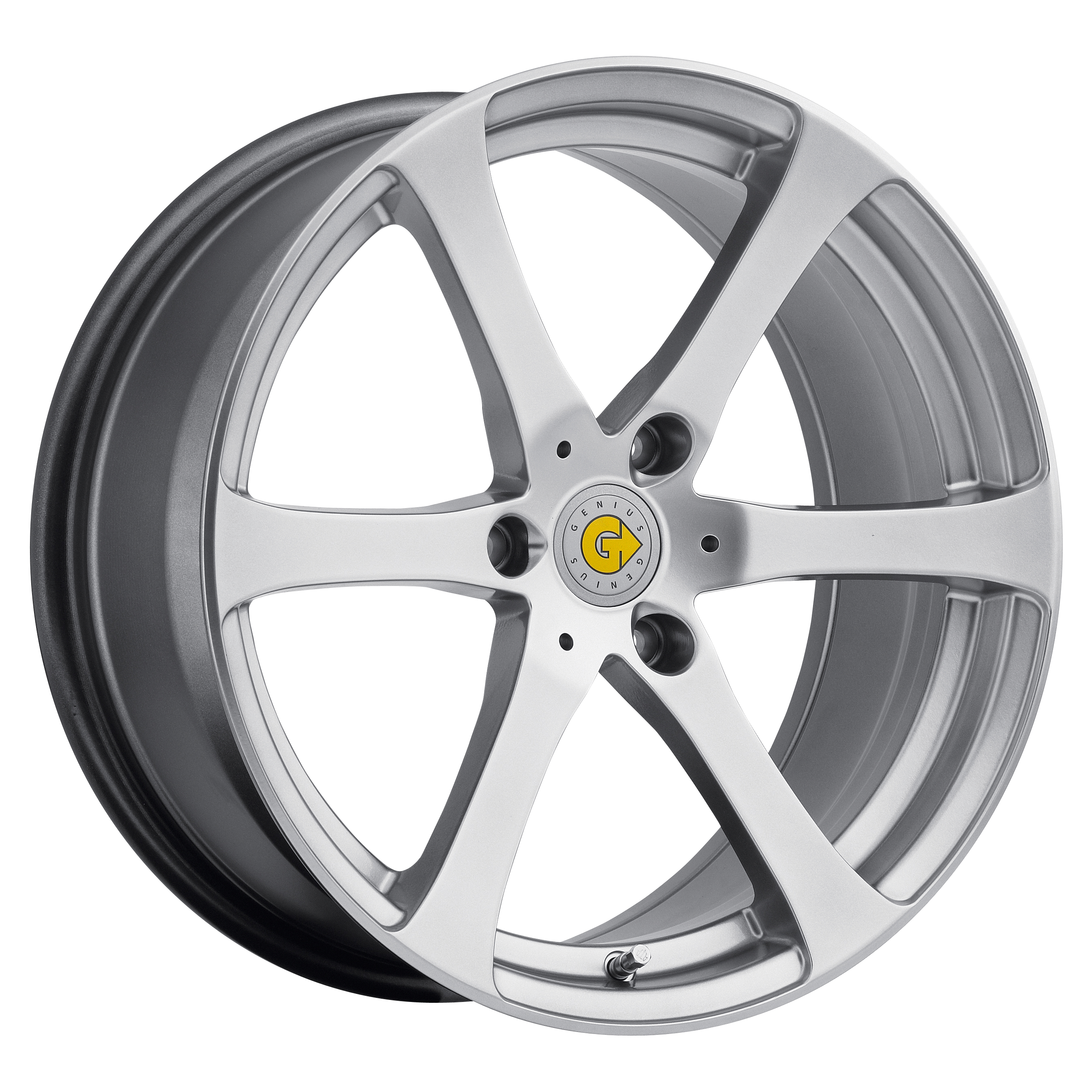 smart wheels genius newton wheel lug rims custom silver dimensions models customizing adds rear