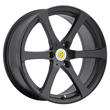 Smart Car Wheels - the Newton in Matte Black