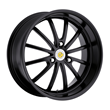 Smart Car Wheels - the Darwin in Matte Black