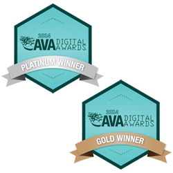 PreCheck's Website and Blog won 2014 AVA Digital Awards