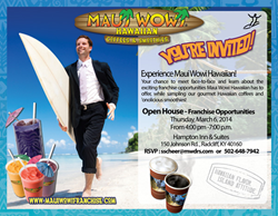 Maui Wowi Franchise Open House