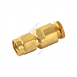 SMA Male Clamp Straight For RG58 - RF Connector