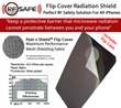 Peel n Shield™ Flip Cover Radiation Shield For Apple iPhones