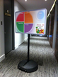 'MyPlate on Wheels' dry erase menu board
