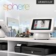 Armodilo iPad Kiosk / Tablet Display Stand / Sphere