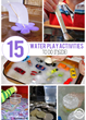 Water Play Ideas Have Been Released On Kids Activities Blog