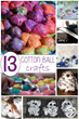 Cotton Ball Crafts Have Been Published On Kids Activities Blog