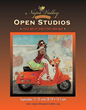 Last Years Napa Valley Open Studios Catalog cover by artist Michael Fitzpatrick