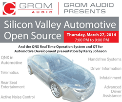 GROM Audio will host QNX automotive meetup