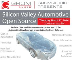 GROM Audio will host QNX automotive meetup