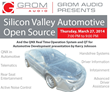 GROM Audio Will Host a Silicon Valley Automotive Open Source Meet Up...