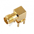 SMA female Right angle through hole for PCB RF Connector