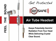 Worried About Cell Phone Cancer? RF Safe Air Tube Headsets Protect The...