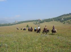 Horseback riding through Mongolia's endless fields of wildfowers
