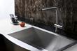 Cascada Ruvati RVF1235BN Single Handle Kitchen Faucet - Brushed Nickel