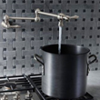 Blanco Grace Pot Filler - Satin Nickel 441170