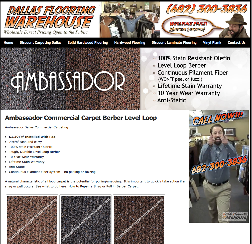 Dallas Flooring Warehouse Announces New Ambassador Private