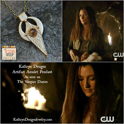 "Kathryn Designs Artifact Amulet Pendant as seen on ""The Vampire Diaries"""