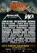 HEAVY MONTRÉAL 2014:  Metallica, Slayer, The Offspring, Lamb of God and Many More