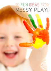 messy play ideas