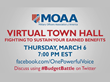 MOAA to Host National Virtual Town Hall March 6 for Military Families