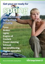 Good Garage Scheme Spring Check