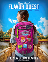 Yogurtland, frozen yogurt, hand-crafted, culinary, adventure,