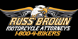 Russ Brown Logo Daytona Bike Week