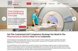 Website Redesign GxP-CC
