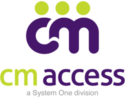 The new CM Access logo features bold design and colors.