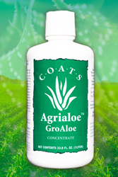 groaloe, coats aloe, agrialoe, natural soil amendment,