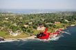 Hotel Viking's Noble Adventures packages includes a Bird's Eye View helicopter flight along the coast.