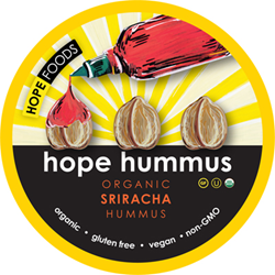 HOPE Foods Sriracha Hummus