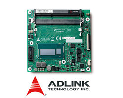 ADLINK's cExpress-HL COM Express® Basic Size Type 6 Module with 4th Generation Intel® Core™ i7/i5/i3 Processor