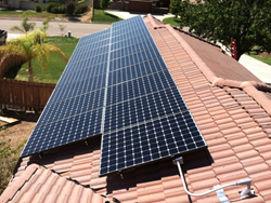 Rooftop-mounted Solar System