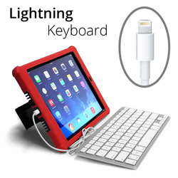 iPad Wired Keyboard Lightning