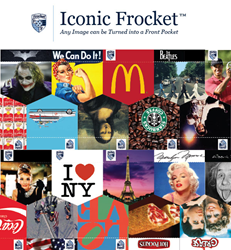 Iconic Frocket: Where any image can be turned into a pocket!