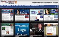 Online Candidate Sample Campaign Websites